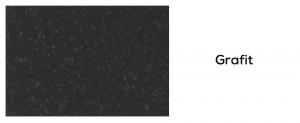 Granitová fabra grafit drezov DEANTE