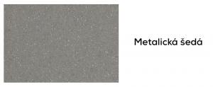 Granitová fabra metalická šedá drezov DEANTE